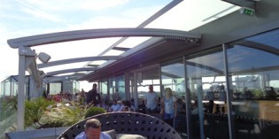 4. July 2014: Radio Rooftop Bar and Restaurant