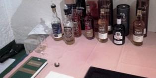 """29. May 2015: Whiskey Tasting @ Vinothek """"Zum alten Stall"""""""