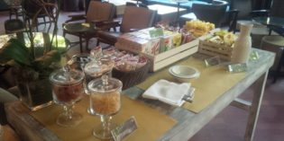 Tasty Italian style breakfast: h club>diana @ Sheraton Diana Majestic (19. April 2016)