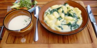 Quick and lovely lunch: Restaurant Loft Five (2. August 2016)