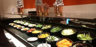 Less atmosphere – better food selection: The Westin Executive Club @ ZEN Restaurant (1. December 2016)