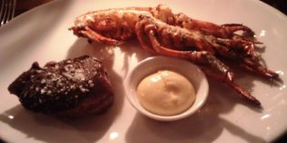 Great lobster in fun party place: Restaurant Burger & Lobster Bank (2. December 2016)