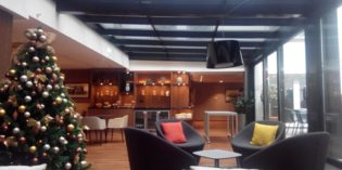 Great lounge but late lunch service: Executive Lounge @ Marriott Skopje Hotel (29. – 31. December 2016)