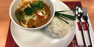 Surprisingly great Thai dishes in a canteen-like atmosphere: Cha Cha Thai Positive Eating (21. February 2017)