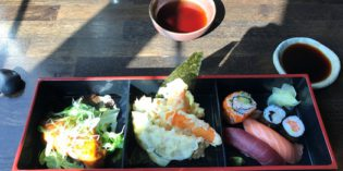 Decent Japanese lunch but not out of the ordinary: Restaurant Ginger (17. March 2017)