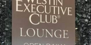 Newly renovated executive Lounge: Westin Executive Club @ The Westin Grand Munich (31. March 2017)