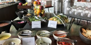 Yummy! Real Mexican breakfast: Restaurant Grill & Vine @ The Westin Guadalajara (8. – 12. April 2017)