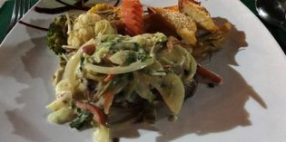 Surprisingly great dishes but not so great service: Restaurant Observatory @ Arenal Observatory Lodge (17. – 18. April 2017)