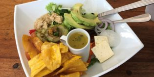 The vegetarian place to be in Tamarindo: Restaurant La Bodega (19. April 2017)