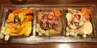Lovely ceviche – not so satisfactory 'anticucho sauce': Restaurant Segundo Muelle (13. May 2017)