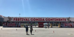 A great food festival in the middle of the biggest park: Festival Comida Continente (1. July 2017)