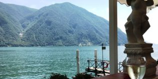 A true gem only reachable by ferry: Hotel Elvezia al Lago (8. July 2017)