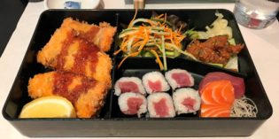 If you're looking for a lunch bargain with sushi – this is the place: Restaurant Samurai II (13. July 2017)