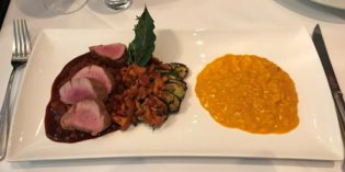 Absolutely delicious dishes and caring service: Restaurant Didi's Frieden (26. July 2017)