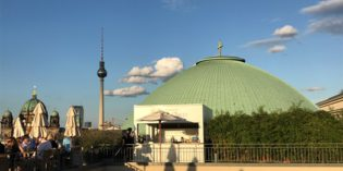 Amazing view all over Berlin: The Rooftop Terrace @ Hotel de Rome (19. August 2017)