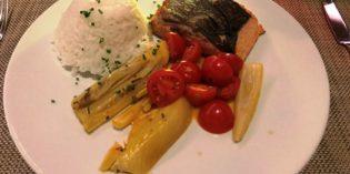 Rather average hotel food: Restaurant Horizon 10 @ Hilton Zurich Airport (28. August 2017)