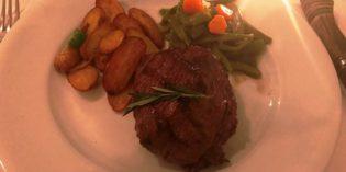 Friendly service with average beef filet: Restaurant Gaucho (31. August 2017)
