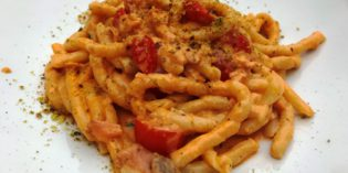 Amazing home-made Italian pasta: Ristorante All' Olivella Wine 'n' Dine (10. September 2017)