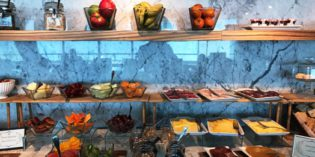 Quite amazing lounge breakfast selection: Executive Club Lounge @ Sheraton Montevideo Hotel (14. October 2017)