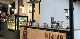 Great coffee place for a break in la ciudad vieja: The Lab Coffee Roasters (14. October 2017)