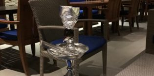 Decent shisha place in the hotel area: Nasmat Poolbar @ The Westin City Centre (7. November 2017)