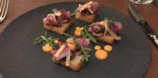 Something I've never seen – a Mustard Wagon: Restaurant J&G Steakhouse @ The St. Regis Al Habtoor (22. February 2018)