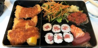 Great sushi lunch bargain in Zurich: Restaurant Samurai II (15. March 2018)