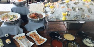 Perfect for an extensive Sunday brunch in Chapultepec: Restaurant El Lago (19. August 2018)