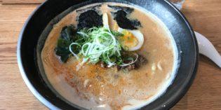 Amazing Tantanmen soup with – unfortunately – slow service: Restaurant Saku (26. September 2018)