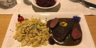 Truly horrible service: Restaurant Alte Galerie @ Schloss Hohenkammer (22. November 2018)