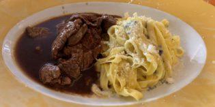 Absent service but good dishes: Restaurant La Piazzetta (4. December 2018)