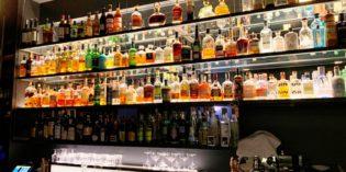 Lovely bar in the basement of a restaurant: Bar Zweigleisig (12. December 2018)