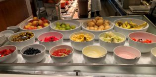 Decent selection but not worth going here specifically: Restaurant Crossroads @ Marriott Tang Plaza Hotel (1. January 2019)