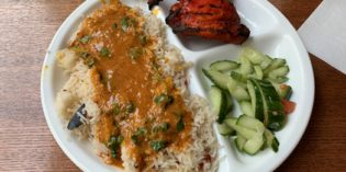Perfectly swift Indian lunch offering: Restaurant Kirti's Dhaba (23. January 2019)
