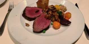 Good Chateaubriand with decent service: Restaurant Chesa Rössli @ Mövenpick Hotel Münster (26. March 2019)