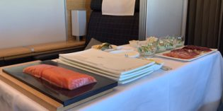 First Class flight LX294 ZRH – NBO (19. April 2019)