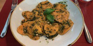 Positive surprise for lunch: Restaurant Brigante (25. April 2019)