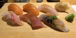 Lovely sushi tasting menu: Sushi Place @ Chelsea Market (17. June 2019)