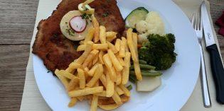 Mouth-watering delicious veal cordon bleu: Restaurant Köchlistube (8. August 2019)