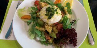 Delicious lunch offering but overwhelmed service: Restaurant Ruben's Bistro (26. August 2019)