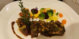 Delicious game dishes in a fish restaurant: Restaurant Blume (30. September 2019)