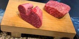 A delicious but very expensive experience – Kobe beef in Kobe: Restaurant Mouriya Honten (13. March 2020)