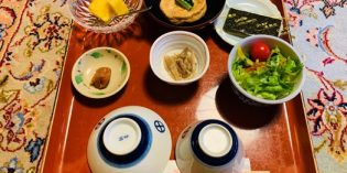 Traditional Japanese breakfast is not really my thing: Ekoin Temple (13. March 2020)
