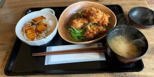 Tasty deep fried chicken in a place you wouldn't expect to find it: Restaurant Zipang (15. March 2020)