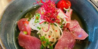 Delicious and light Asian lunch offering: Restaurant Metropol (10. June 2020)