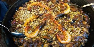 Tapas and paella – typical Spanish dishes: Restaurant La Taperia @ El Nacional (17. July 2020)