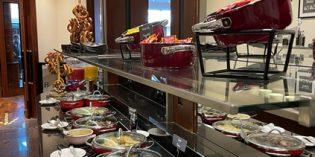 When finally the breakfast buffet is back after Corona: Restaurant Greenhouse @ The Westin Grand Munich (17. June 2021)