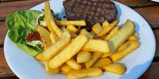 Nice steakhouse with swift service: Restaurant Toro Negro (1. August 2021)