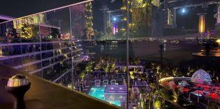 My favourite place for double apple shisha in Dubai: SoBe @ W Dubai – The Palm (16. January 2021)