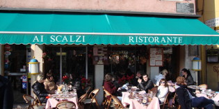 13. February 2010: Restaurant Ai Scalzi